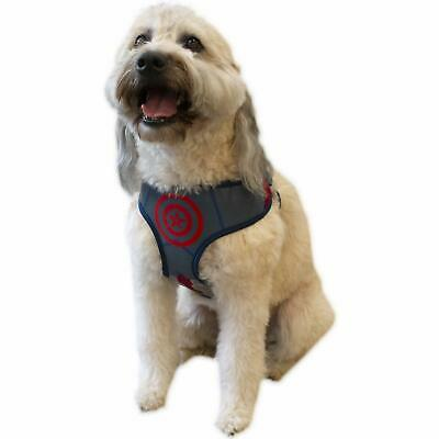 Marvel Comics Avengers Infinity War CAPTAIN AMERICA Harness Puppy/Dog Size SMALL