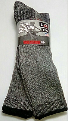 Wolverine Merino Wool Over-the-Calf Boot Socks, Large, 2 pr $14.95+FREE SHIPPING