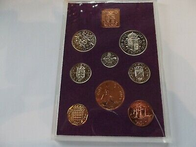 1970 Proof Royal Mint Coin Collection - Last Pre-decimal Coin Set