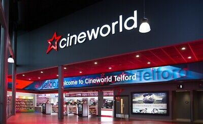 1 x Cineworld cinema tickets ANY DAY Adult Kids - INSTANT EMAIL DELIVERY