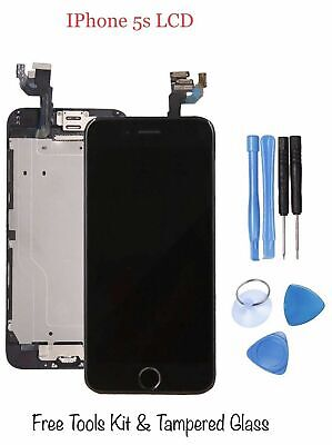 iPhone 5S Replacement LCD Screen Touch Display Digitizer Genuine IC Black New