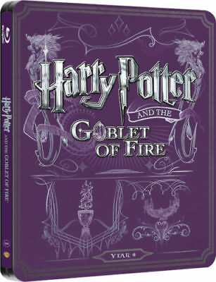 Harry Potter The Goblet Of Fire Blu Ray 2-Disc Steelbook Box Set Uk