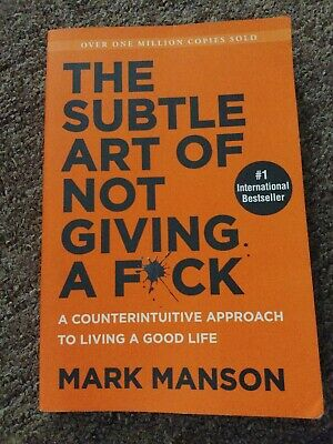 The Subtle Art of Not Giving a F*ck (Paperback) 9780062837509