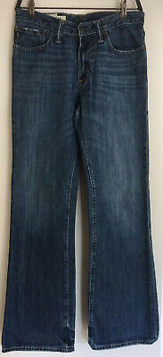 Abercrombie Kids Boys Baxter Low Rise Slim Boot Jeans 16. Used