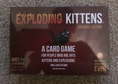 Exploding Kittens Card Game Original Edition Family Party Travel Leisure Game