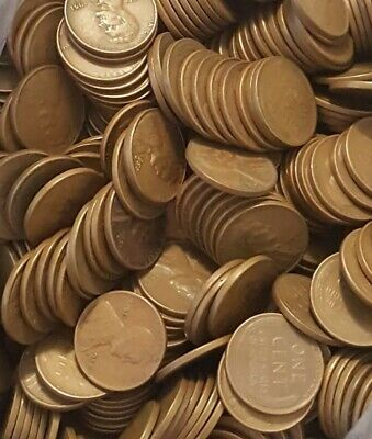 1000 WHEAT PENNIES Lot Of Old Ones 10,20,30,40,50 Pds Left To Me By