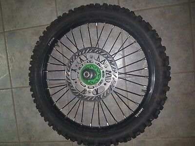 Kx250F 2005 Tusk Front Wheel With Spacers, Dust Seals And Shaft