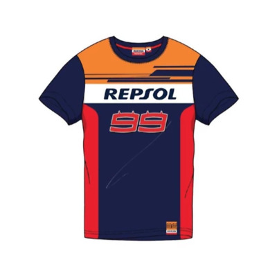T-shirt JL99 Repsol Honda Jorge Lorenzo 99 MotoGP official collection Located in