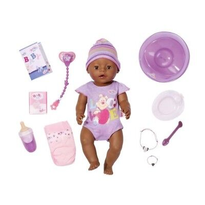 Baby Born - Ethnic Interactive Doll + Accessories 822029 NEW