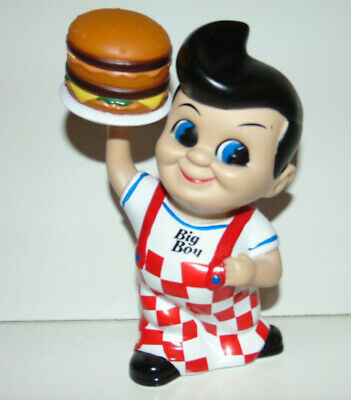 2010 Frisch's, Bobs or Shoneys Big Boy Coin Bank with Hamburger BRAND NEW **