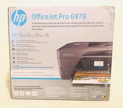 HP OfficeJet Pro 6978 All-in-One Wireless Printer, HP Instant Ink (T0F29A)