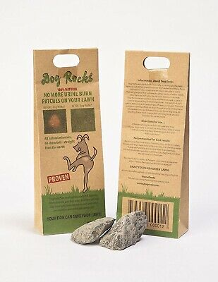 (1Pack) - Dog Rocks Prevent Grass Burn Marks, 2 Month Supply. Shipping Included