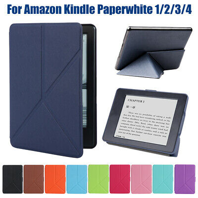 Magnetic Cover e-Books Reader Case For Amazon 2018 Kindle Paperwhite 1/2/3/4