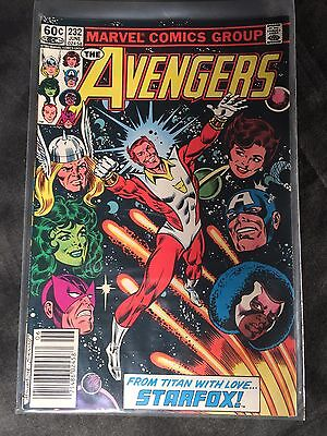 Marvel Comics The Avengers #232 June 1983 Book Adult Titan With Love Starfox