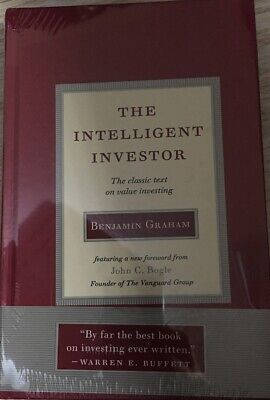 The Intelligent Investor:Classic Text on Value Investing Hardcover Deckle Edge