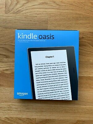 MINT *Ads Free* Amazon Kindle Oasis (9th Generation) 8GB, Wi-Fi, 7in - Graphite