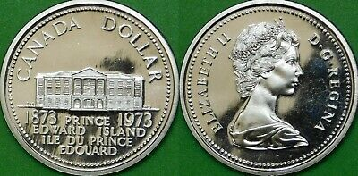 1973 Canada Dollar Graded as Proof Like From Original Set