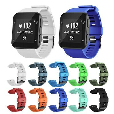 Silicone Replacement Wrist Band Watch Belt Strap For Garmin Forerunner 35 Watch