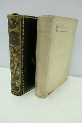 2x Anitique Poetry Books Poetical Works of Wordsworth 1904, Shelley Warne ?1888