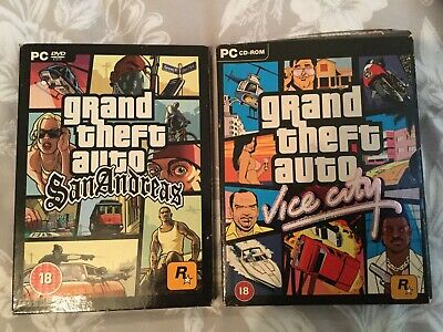 Grand Theft Auto PC Games - San Andreas And Vice City
