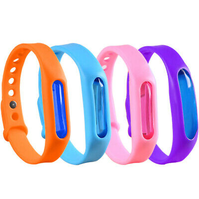 6pcs Anti Mosquito Band Insect Essential Oil Bug Repellent Bracelet Repeller lov