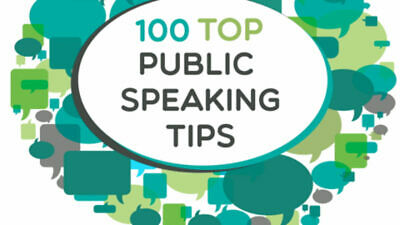 100 public speaking tips PDF ebook with MRR
