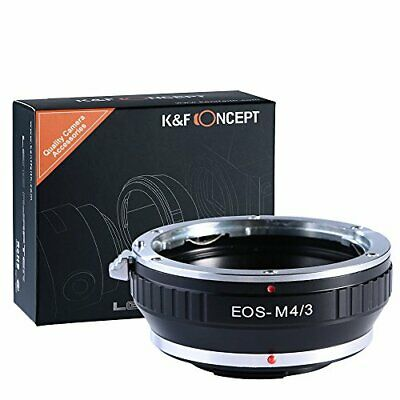 KF Concept® lens mount adapter EOS-M4 3 Canon EOS mount lenses - Mi... fromJAPAN