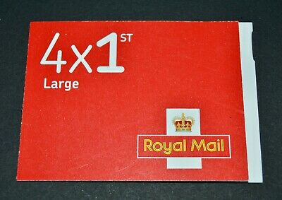 New - Royal Mail Stamps - FIRST 1st CLASS Book of 4 x LARGE Letter Stamps