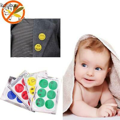 6PCS/Set Anti Mosquito Repellent Sticker Smiley Face Killer Mosquito KFBY