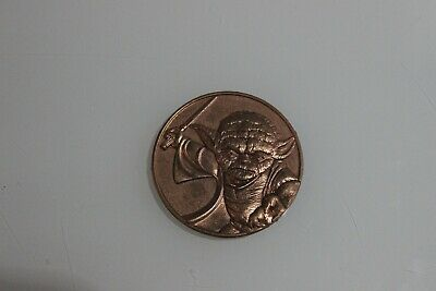 Star Wars 2005 California Lottery Promo Yoda Coin