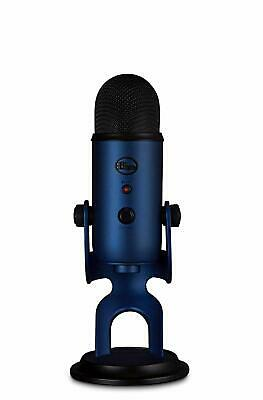 Blue Microphones Yeti USB microphone Midnight Blue 2117 directivity 4 mode