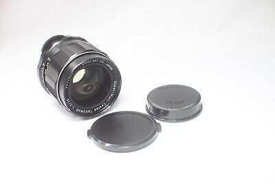Pentax SMC Takumar 35mm F/2 MF Lens Wide Angle for M42 Mount Made In Japan