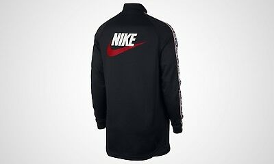 NIKE TAPED POLY Track Jacket With Side Stripe (AJ2681 010