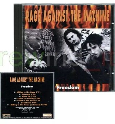 "Rage Against The Machine ""Freedom"" Rare Cd 1994 Italy Only"