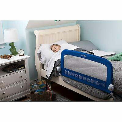 Summer Infant Grow with Me Single Bedrail (Blue) - Bed Guard - Single Bedrail