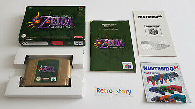 Nintendo 64 N64 - The Legend Of Zelda Majora's Mask - PAL