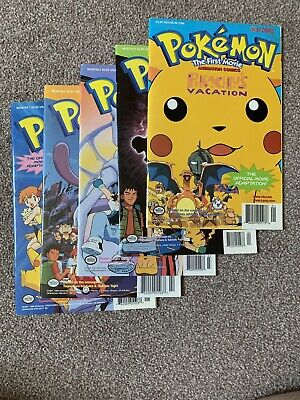 Pokemon The First Movie Comics