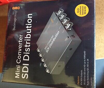 Black Magic Design Mini Converter SDI Distribution