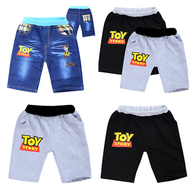 2019 New Toy Story Boys Girl's Casual shorts Pants Kids Casual Jeans Shorts Gift