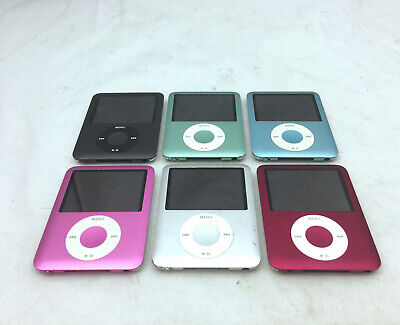 Apple iPod Nano 3rd Generation Gen 4GB - 8GB YOU CHOOSE Tested and Working A1236