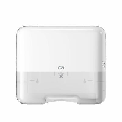 Tork 553100 H3 Towel Dispenser Elevation Plastic White Zigzag and V