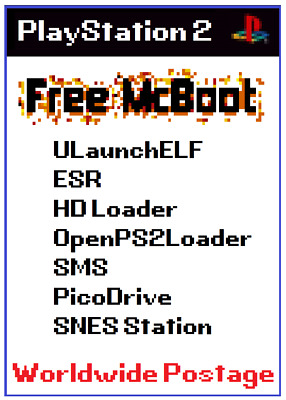 Free mcboot MC (FMCB) for PS2 - Load games from network share & hdd NO MODCHIP!