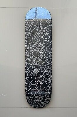 4dd2c2b0 Takashi Murakami Skulls & Flowers Skateboard Deck Complexcon Exclusive Sold  Out