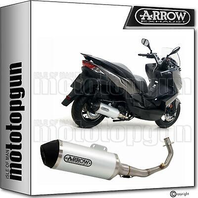 Arrow Full Silencer Nocat Hom Urban Black Kawasaki J300 J-300 2017 17 2018 18