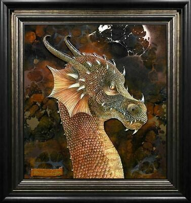 Dragon of The Underworld by Kerry Darlington. Brand New, Framed with COA.