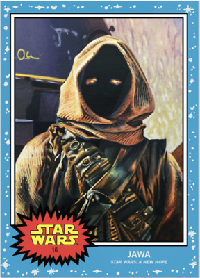 Topps Star Wars Living Set Card #16 - Jawa GREAT COLLECTION