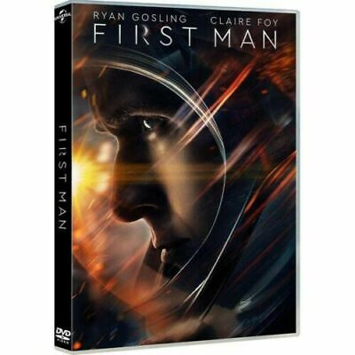DVD First Man Ryan Gosling, Claire Foy, Nuovo Imballato