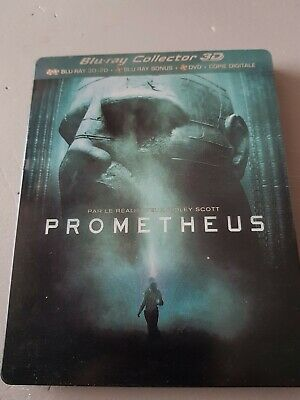 Blu ray 3d steelbook Collector Prometheus