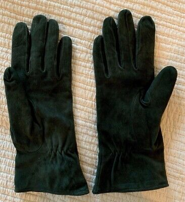 aaa9d6512 Madova Florence ~ Italy ~ Suede Gloves ~ Cashmere Lined ~ Size 8 ~ Gray ~