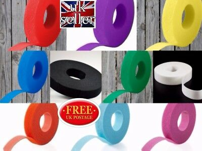 VELCRO ONE-WRAP/CABLE TIES 20mm x 200mm VARIOUS COLOURS(CABLE MANAGEMENT)